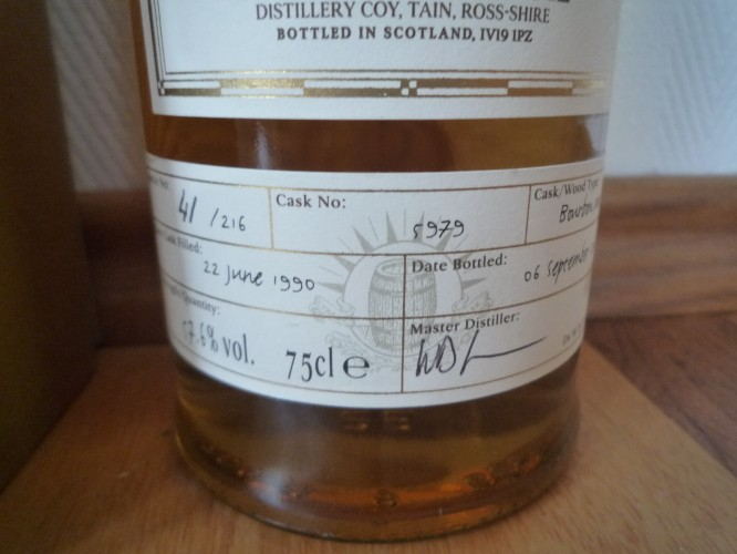 Bild Nr. 146 zu Thread Glenmorangie-1990-single-cask-bourbon-cask