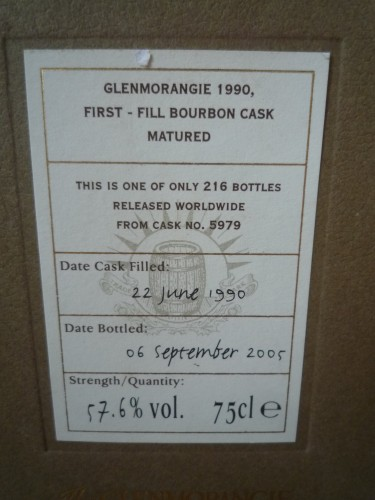 Bild Nr. 147 zu Thread Glenmorangie-1990-single-cask-bourbon-cask