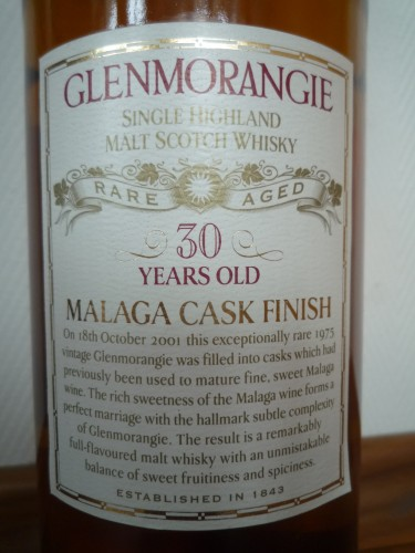 Bild Nr. 98 zu Thread Glenmorangie-rare-aged-malaga-wood-finish