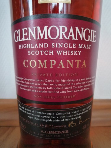 Bild Nr. 693 zu Thread Glenmorangie-companta--5th-edition