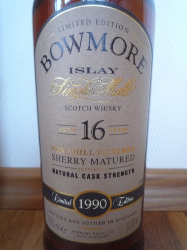 Bild Nr. 391 zu Thread Bowmore-1990-vintage--sherry-matured