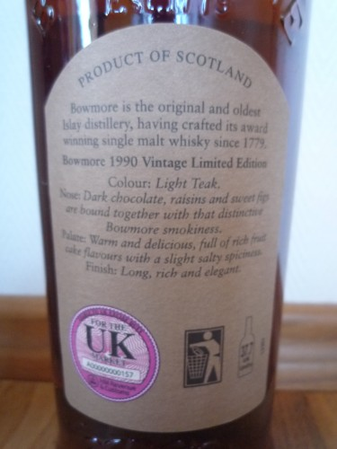 Bild Nr. 392 zu Thread Bowmore-1990-vintage--sherry-matured