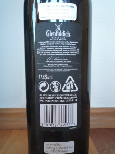 Bild Nr. 547 zu Thread Glenfiddich-snow-phoenix