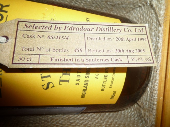 Bild Nr. 600 zu Thread Edradour-straight-from-the-cask--sauternes-wood-finish