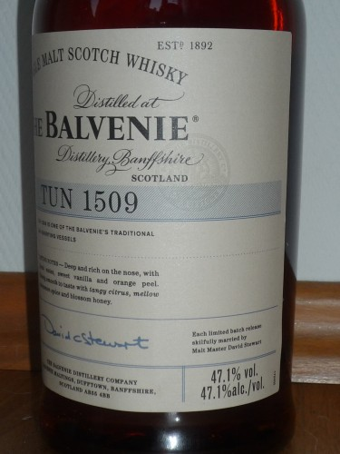 Bild Nr. 858 zu Thread Balvenie-tun-1509-batch-1